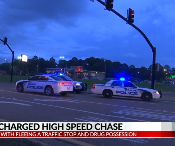 An Alabama man and woman are facing charges after leading Pearl police on a chase.