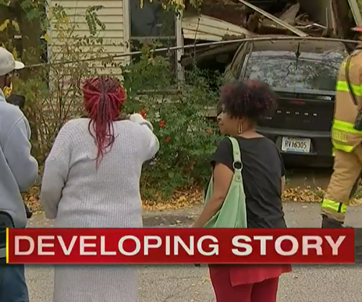 Pittsburgh home condemned after stolen car crashes into it; police searching for driver