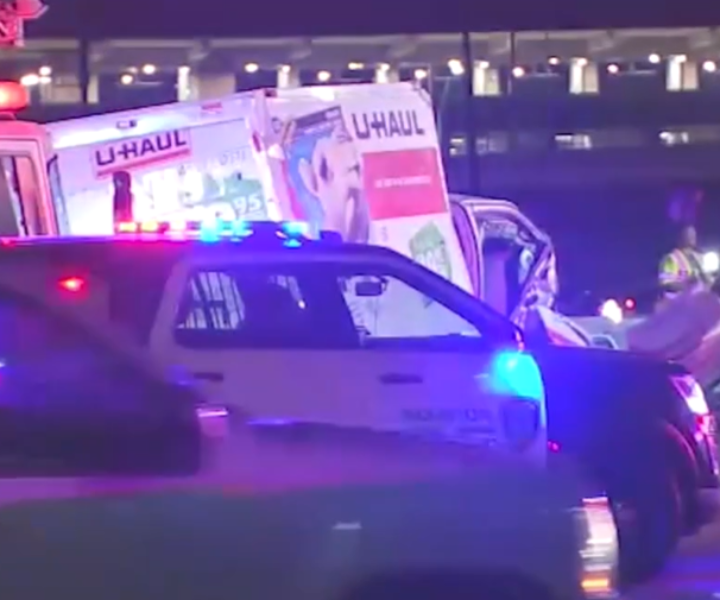 Man and woman in U-Haul lead wild wrong-way chase on US-59